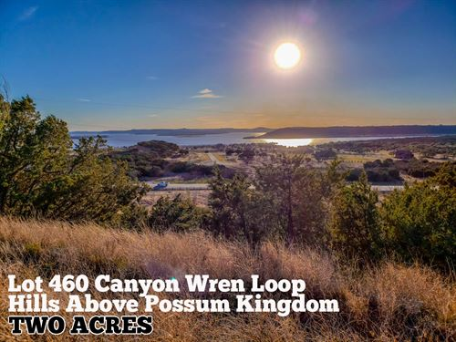 2.01 Acres In Palo Pinto County : Graford : Palo Pinto County : Texas