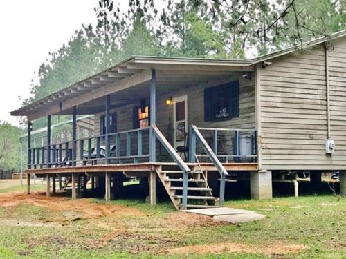 Cabin 32 Acres Borders Homochitto : Brookhaven : Lincoln County : Mississippi