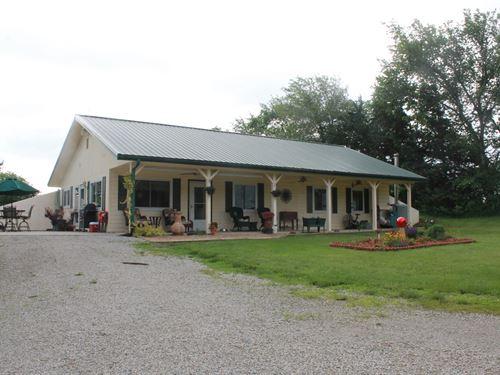 Cameron MO Country Home Acreage : Cameron : Dekalb County : Missouri