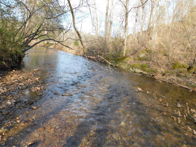 Hobby Farm Tn, Home Acreage, Creek : Waynesboro : Wayne County : Tennessee