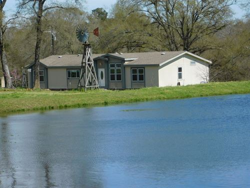 Country Home Acreage Leon County : Flynn : Leon County : Texas