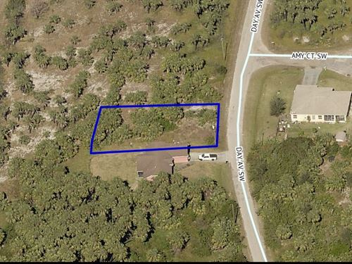 Residential Lot, Sw Palm Bay, Fl : Palm Bay : Brevard County : Florida