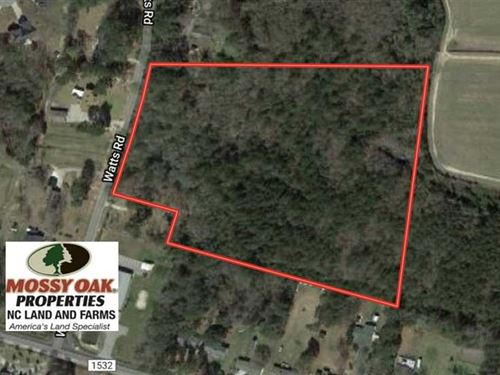 Under Contract, 11.5 Acres Timber : Lumberton : Robeson County : North Carolina