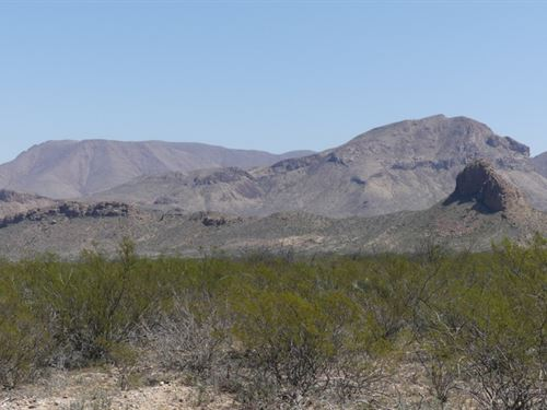 Great Off Grid Property : Terlingua : Brewster County : Texas