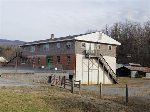 Potential Business Roanoke VA : Shawsville : Montgomery County : Virginia