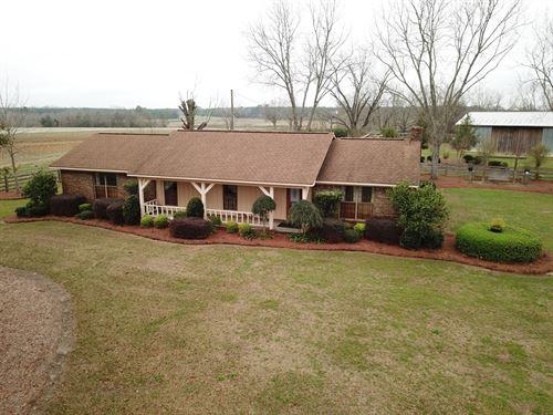 29 Acres Cropland W Farm House : Slocomb : Geneva County : Alabama