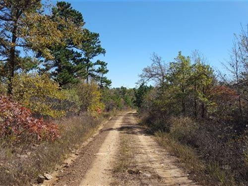 Land Blue Mountain Next To National : Talihina : Le Flore County : Oklahoma
