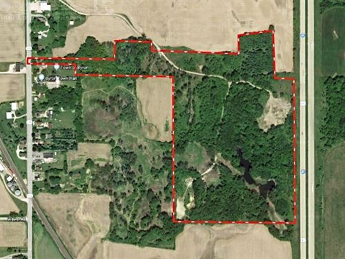 Hunting Recreational Property Fond : Byron : Fond Du Lac County : Wisconsin