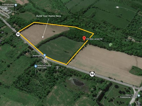 28.8+/- Acres On Route 94 : Newton : Warren County : New Jersey
