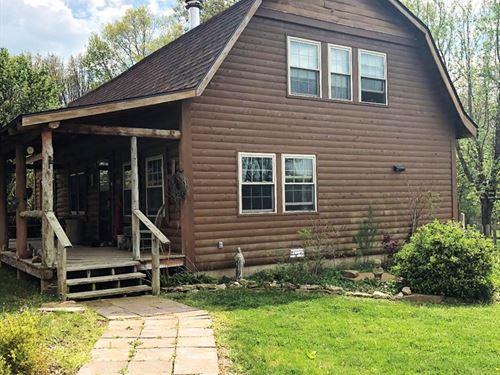 Log Home, B&B & Acreage : Houston : Texas County : Missouri