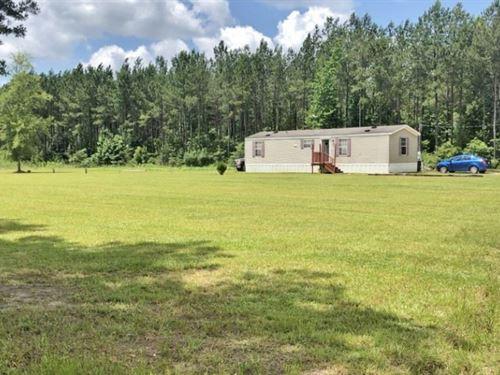 Mobile Home 31 Acres Near Desoto Na : Wiggins : Stone County : Mississippi