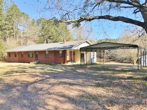 Hunting Camp, River Front Land For : Kosciusko : Attala County : Mississippi