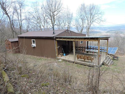 Secluded Cabin Acreage Buffalo : Jasper : Newton County : Arkansas