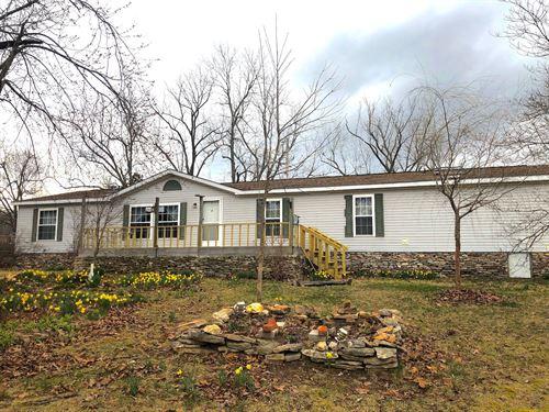 Country Home With Acreage Ozarks : Koshkonong : Oregon County : Missouri