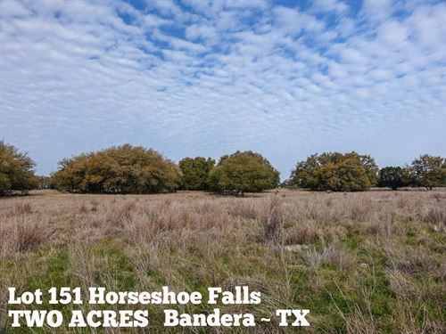 2 Acres In Bandera County : Bandera : Texas