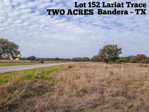 2.01 Acres In Bandera County : Bandera : Texas