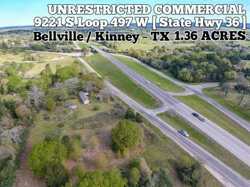 1.36 Acres In Austin County : Bellville : Austin County : Texas