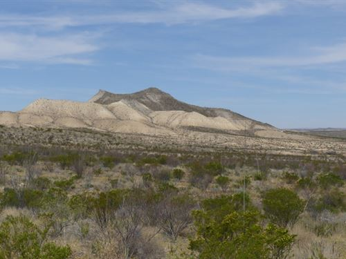 40 Acres In Solitario : Terlingua : Brewster County : Texas