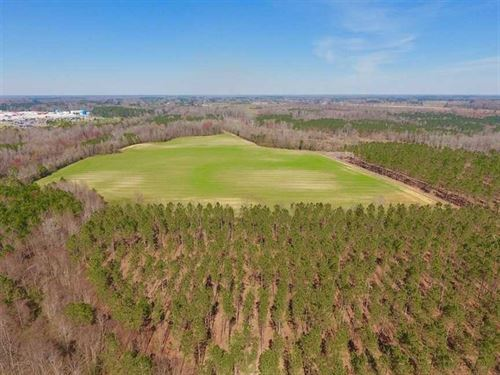 160 Acres of Timber And Farm Land : Whitakers : Edgecombe County : North Carolina