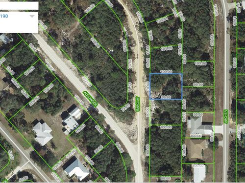 Beautiful Lot Near Lake Chilton, Fl : Avon Park : Highlands County : Florida