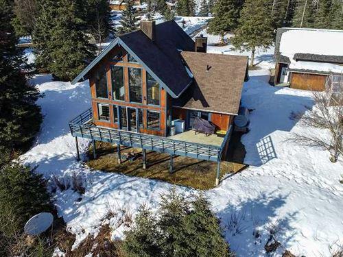 Deep Creek River Valley View Home : Ninilchik : Kenai Peninsula Borough : Alaska