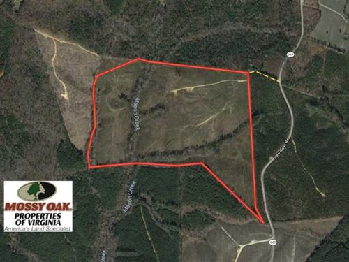 100 Acres of Hunting And Recreatio : Kenbridge : Lunenburg County : Virginia