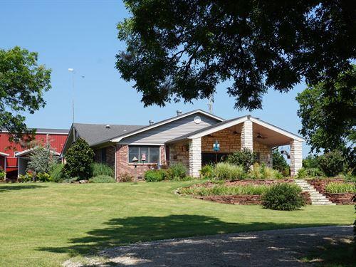 Central Oklahoma Farm & Ranch : Macomb : Pottawatomie County : Oklahoma