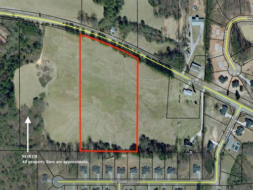 9.53 +- Acres Zoned R-2 Paulding Co : Dallas : Paulding County : Georgia