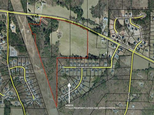 36.41+- Acres Zoned R-2 Paulding Co : Dallas : Paulding County : Georgia