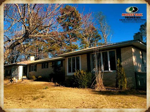 Home With 12.5 Acres in Quitman, AR : Quitman : Cleburne County : Arkansas