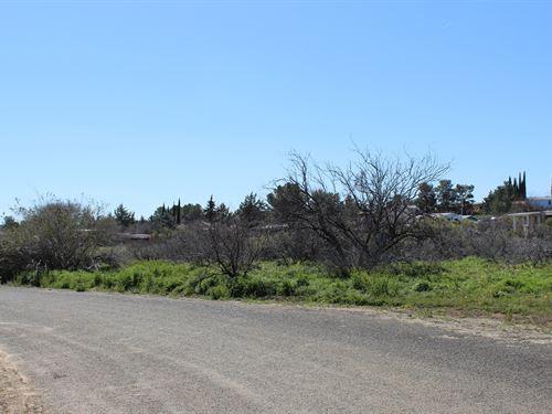Home Site on Big Bug Creek : Spring Valley : Yavapai County : Arizona