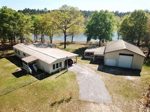 Mobile Home W 2 Acres Lake Geneva : Geneva : Alabama
