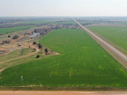 116.30 Acres Cropland : Ringwood : Major County : Oklahoma