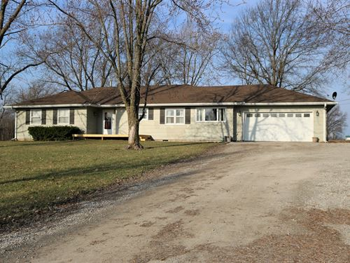 Country Home Just Outside Of Town : Chillicothe : Livingston County : Missouri