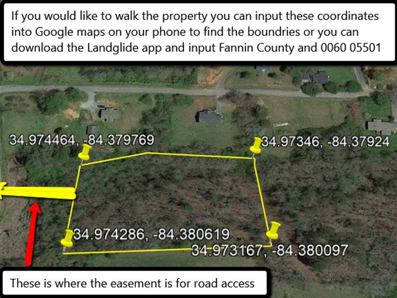 No Restrictions Mobile Home Allowed : Blue Ridge : Fannin County : Georgia