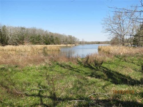 Scenic Lake Front Property on Lake : Fort Towson : Choctaw County : Oklahoma