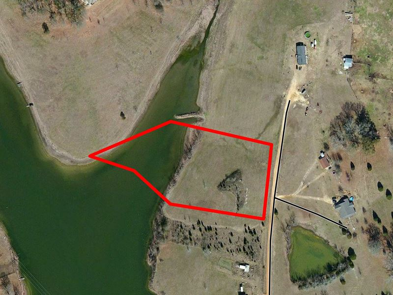 Waterfront Lot In Hayneville : Hayneville : Lowndes County : Alabama