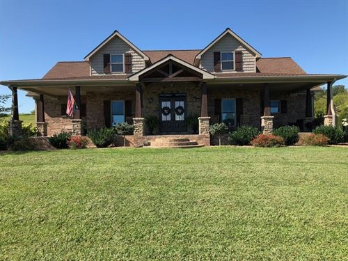 Stunning Country Home 70 Acres : Burkesville : Cumberland County : Kentucky