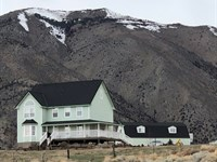 Country Home 24+ Acres Water Rights : Wellington : Lyon County : Nevada