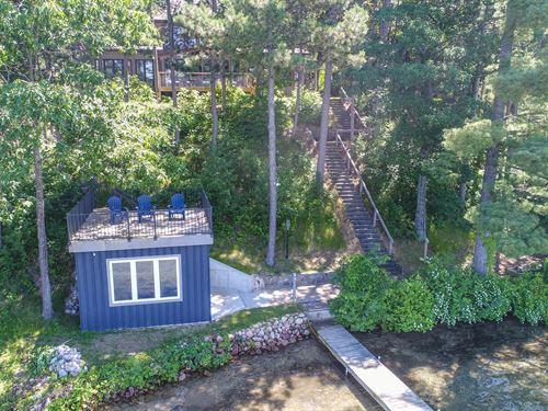 Chain O' Lakes Home Round Lake : Waupaca : Wisconsin