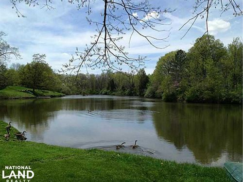 Zionsville Property on Elrod Lake : Zionsville : Boone County : Indiana