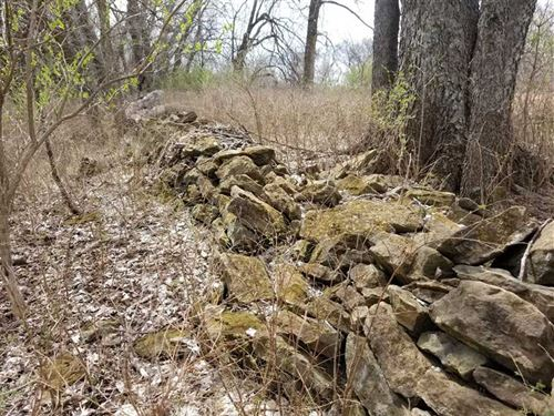 40 Acre Hunting Gem Adjoining Refu : Cherryvale : Labette County : Kansas
