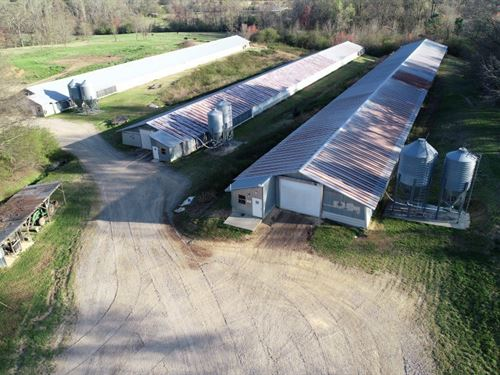 Under Contract Bearden Poultry Farm : Boaz : DeKalb County : Alabama