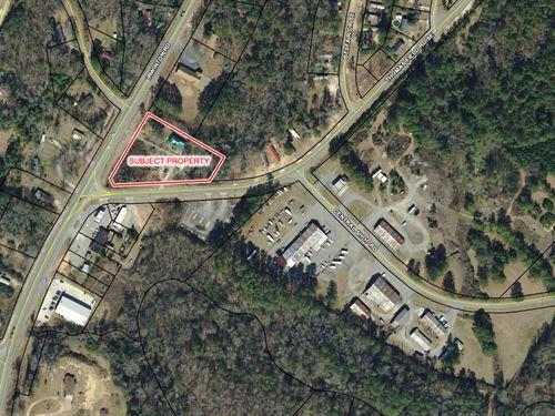 2.5 Corner Lot For Sale : Milledgeville : Baldwin County : Georgia