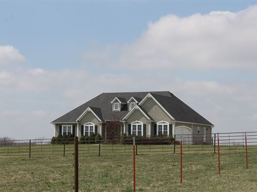 Braymer MO Home 70 Acres Pasture : Braymer : Carroll County : Missouri
