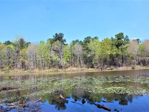 Beautiful 10+ Acre Lake : Gray : Jones County : Georgia