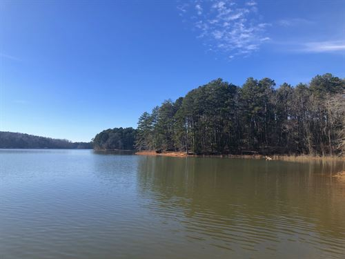 Lake Hartwell Frontage : Westminster : Oconee County : South Carolina