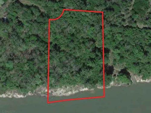 3 Rare Acres On Trinity River : Goodrich : Polk County : Texas