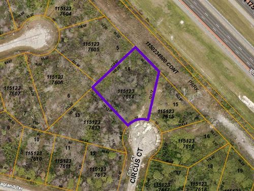 Sweet Cul De Sac Lot Priced To Move : North Port : Sarasota County : Florida