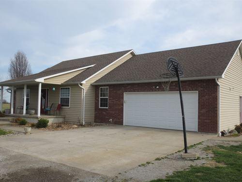 Home Acreage El Dorado Springs, MO : El Dorado Springs : Cedar County : Missouri
